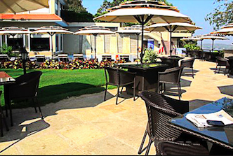 Pool Side Alfresco Dining Crown Hotel