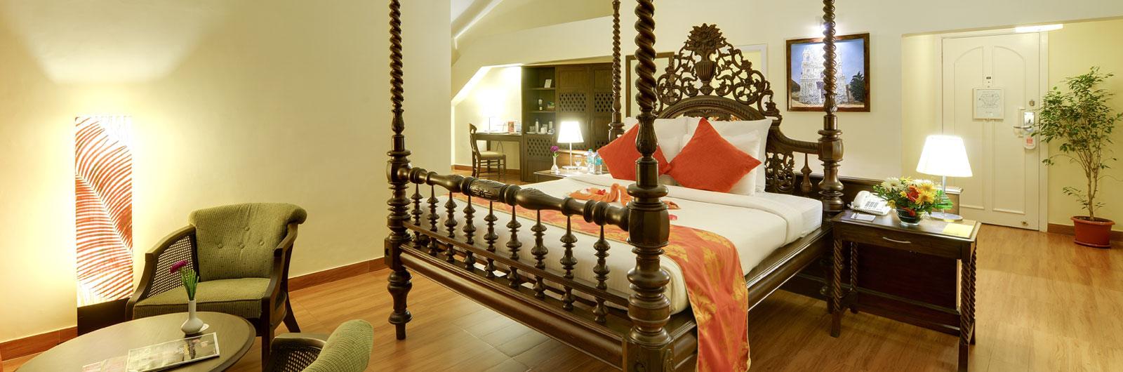crown hotel room