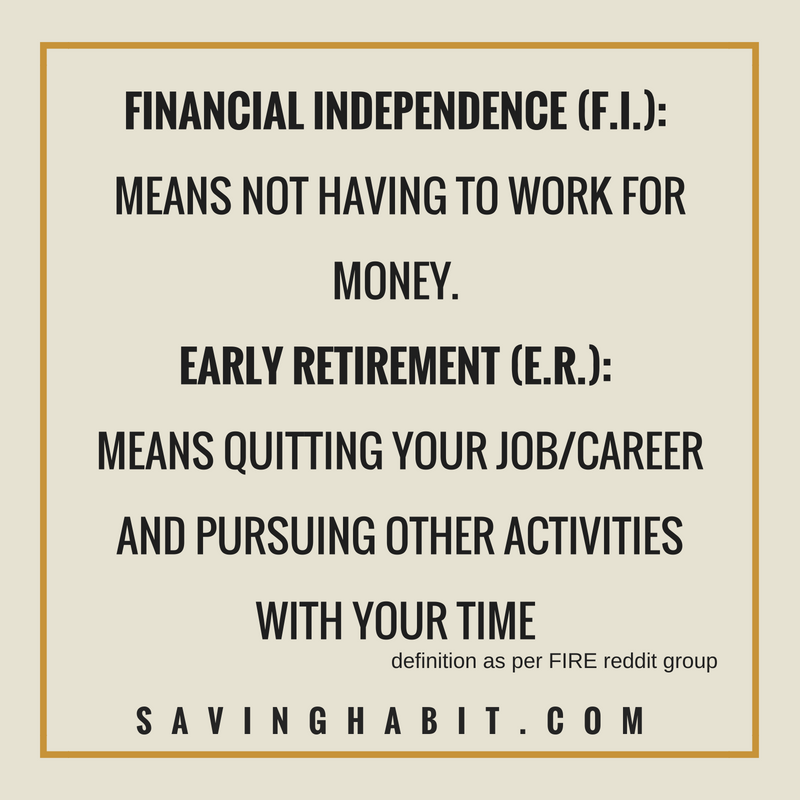 The Basics Of Financial Independence And Retiring Early (F