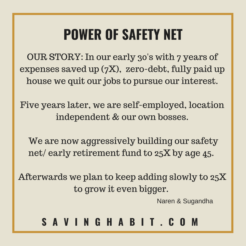Power of safety net