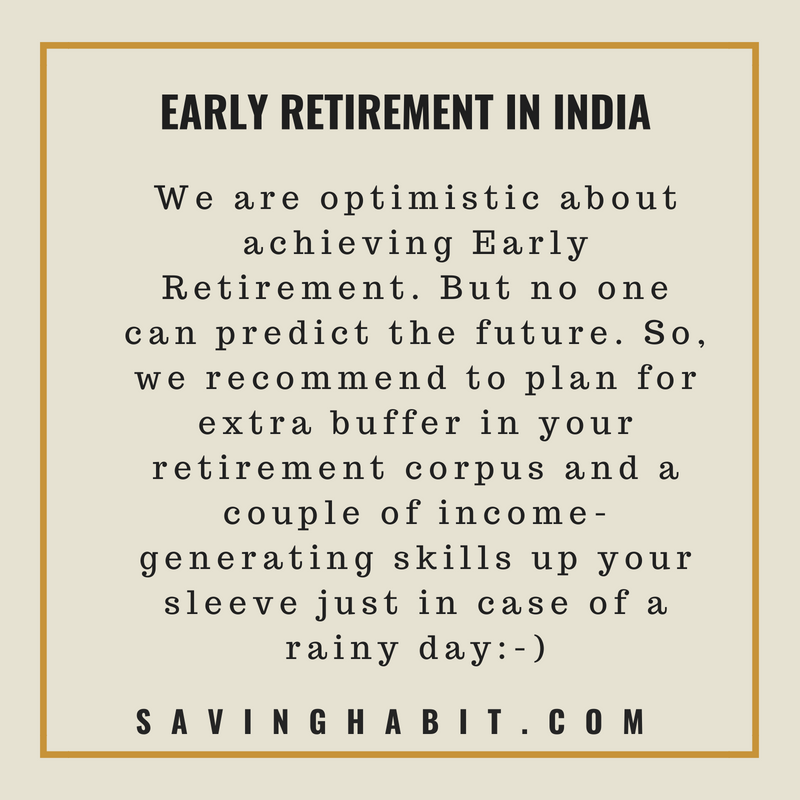 Early Retirement in India