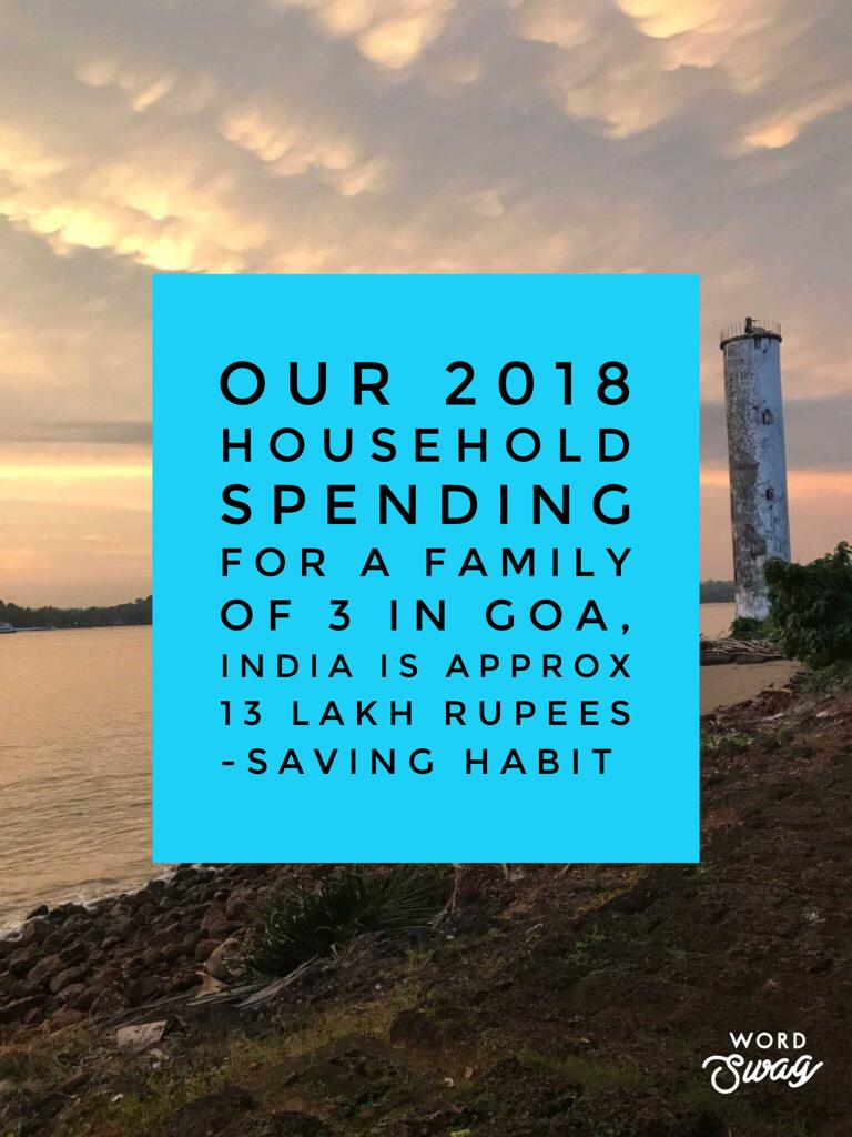 Our 2018 cost of living in Goa